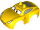 Part No: 88765pb05  Name: Duplo Car Body 2 Top Studs and Spoiler with Cars Cruz Ramirez Pattern
