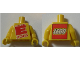Part No: 973pb2829c01  Name: Torso with 'THE BIG E 2010' and Lego Logo on Back Pattern