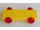 Part No: carbasemi  Name: Minitalia Brick, Modified 16 x 6 with 4 wheels