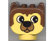 Part No: dupbarnaby1  Name: Duplo Animal Head Barnaby Bear