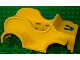 Part No: dupcarbody06  Name: Duplo Car Body Old Fashioned Racer with Blue Horseshoe Pattern (fits over Car Base 2 x 6)