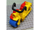 Part No: dupmc2  Name: Duplo Motorcycle for Circus Cannonball Clown