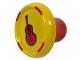 Part No: plug017  Name: Music Builder Sound Plug with Brown Guitar pattern