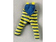 Part No: scl015  Name: Scala, Clothes Baby Dungarees with Blue Stripes Pattern