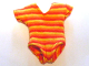Part No: scl069  Name: Scala, Clothes Female Swimsuit with Red Stripes Pattern