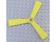 Part No: x1123  Name: Duplo Rotor 3 Blade for Helicopter Body (Skids not Removable) (Propeller)