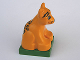 Part No: 2334c03pb05  Name: Duplo Leopard Cub on Base