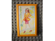 Part No: 6953pb05  Name: Scala Wall, Panel 6 x 10 with Funky Fashion 1998 Pattern (Sticker) - Set 3118