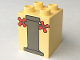 Part No: 31110pb008  Name: Duplo, Brick 2 x 2 x 2 with Pedestal and Faucet Handles Pattern
