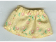 Part No: belvskirt31  Name: Belville, Clothes Skirt Short, Pink Flowers Pattern (Set 5860)
