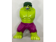 Part No: 10121c03pb01  Name: Body Giant, Hulk with Dark Green Hair and Magenta Pants Pattern