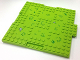 Part No: 15623pb002  Name: Brick, Modified 16 x 16 x 2/3 with 1 x 4 Indentations and 1 x 4 Plate with Grass and Rocks Pattern