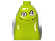 Part No: 23925pb01  Name: Duplo Alien with Smile and Light Lime Spots (Blodger)