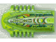 Part No: 32310pb02  Name: Technic Block 3 x 5 x 1 2/3 with RoboRider Swamp Pattern