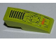 Part No: 50950pb033  Name: Slope, Curved 3 x 1 No Studs with Grille, Bolted Plate and 'HAB3' Pattern (Sticker) - Set 8959