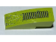 Part No: 50950pb038  Name: Slope, Curved 3 x 1 No Studs with Grille, Splatters and Scratches Pattern (Sticker) - Set 8708