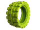 Part No: 55701  Name: Tire 100 x 48 Balloon Offset Tread