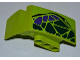 Part No: 61070pb004  Name: Technic, Panel Car Mudguard Right with Dark Green and Dark Purple Scales Pattern (Sticker) - Set 9445