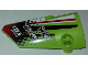 Part No: 64683pb039  Name: Technic, Panel Fairing # 3 Small Smooth Long, Side A with Sponsorship Logos and Black, Red and White Styling Pattern (Sticker) - Set 42065
