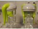 Part No: 87571pb04  Name: Minifigure, Headgear Headdress SW Twi'lek and Light Bluish Gray Pattern