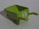 Part No: 98288pb001  Name: Minifigure, Utensil Wheelbarrow Frame with 'PROPERTY OF NED FLANDERS' Pattern (Sticker) - Set 71006