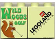 Part No: 4066pb214  Name: Duplo, Brick 1 x 2 x 2 with Wild Woods Golf Pattern