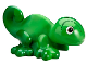 Part No: 15678pb01  Name: Chameleon, Friends / Elves with Black, Reddish Brown and White Eyes and Marbled Green Pattern (Pascal)