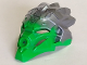 Part No: 24155pb01  Name: Bionicle Mask of Jungle (Unity) with Marbled Flat Silver Pattern