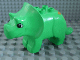 Part No: 31049pb01  Name: Duplo Dinosaur Triceratops Adult with Brown Spots Pattern