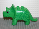 Part No: 31049pb02  Name: Duplo Dinosaur Triceratops Adult with Green Spots Pattern