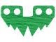 Part No: 50581  Name: Minifigure, Skirt Cloth 6 Large Points (Grass)
