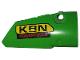 Part No: 64391pb043  Name: Technic, Panel Fairing # 4 Small Smooth Long, Side B with 'KRN POWERTOOLS' Pattern (Sticker) - Set 42039