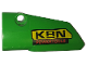 Part No: 64683pb043  Name: Technic, Panel Fairing # 3 Small Smooth Long, Side A with 'KRN POWERTOOLS' Pattern (Sticker) - Set 42039