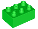 Part No: 87084  Name: Duplo, Brick 2 x 3