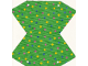 Part No: beltent  Name: Belville Tent Cloth with Blue, Yellow and Pink Spots Pattern