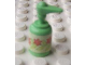 Part No: 6933bpb02  Name: Scala Accessories Bottle Pump with Flowers Pattern (Sticker) - Set 3117