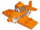 Part No: 13517pb01  Name: Duplo Airplane with Disney Planes Dusty Pattern