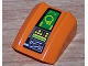 Part No: 30602pb050  Name: Slope, Curved 2 x 2 Lip, No Studs with Controls Pattern (Sticker) - Set 8632