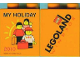Part No: 4066pb395  Name: Duplo, Brick 1 x 2 x 2 with My Holiday 2010 Legoland Windsor Pattern