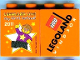 Part No: 4066pb408  Name: Duplo, Brick 1 x 2 x 2 with LEGOLAND Live! My First Festival 2011 Legoland Windsor Pattern