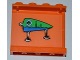 Part No: 4215bpb52  Name: Panel 1 x 4 x 3 with Blue and Green Fishing Lure Pattern on Inside (Sticker) - Set 3834