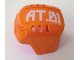 Part No: 44790pb01  Name: Sports Hockey Helmet with 'AT.01' Pattern (Sticker) - Set 7708