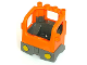 Part No: 48125c03  Name: Duplo Truck Semi-Tractor Cab with Dark Bluish Gray Base