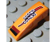 Part No: 50950pb030  Name: Slope, Curved 3 x 1 No Studs with 'SMELL ZWELL' Pattern (Sticker) - Set 8304