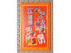 Part No: 6953pb06  Name: Scala Wall, Panel 6 x 10 with Bulletin Board Pattern (Sticker) - Set 3123