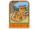 Part No: dupstr32  Name: Storybuilder Happy Home Card with Cat Pattern