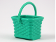 Part No: 33081c01  Name: Scala Utensil Wicker Basket with Handle