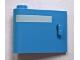 Part No: 92262pb004  Name: Door 1 x 3 x 2 Left - Open Between Top and Bottom Hinge (New Type) with Horizontal White Line Pattern