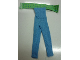 Part No: scl058  Name: Scala, Clothes Female Jumpsuit with Medium Green Top with Blue Dots Pattern