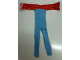 Part No: scl063  Name: Scala, Clothes Female Jumpsuit with Red Top with Yellow Dots Pattern